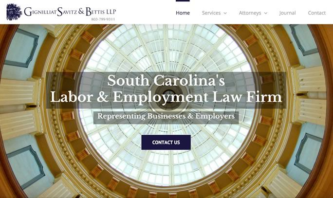 South Carolina's Oldest Management | Only Labor & Employment Law Firm