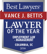 Vance J. Bettis - Employment & Labor Defense Lawyer in Columbia, South Carolina